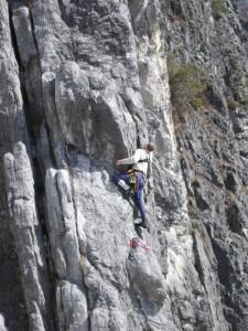 Foto Klettern in Starkenbach Österreich, Klettertraining