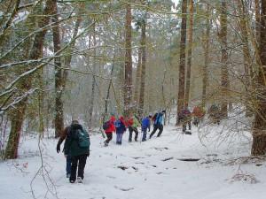 Foto Pilgern für Manager im Winter