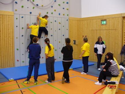 Foto Fortbildung Klettern mit Klettertrainer für Pädagogen in der Kinder- und Jugendarbeit