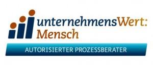 Logo UnternehmensWert:Mensch autorisierter Prozessberater