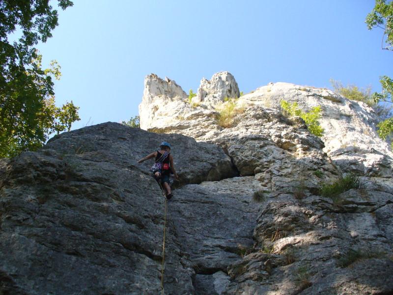 Foto Kletterkurs im Donautal - Mehrseillängentouren