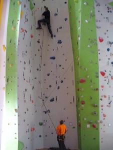 Foto Kletterkurs Vorstiegsklettern in der Halle - T-Hall Berlin