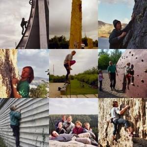 Collage Eidechse1710 Klettertraining, Kletterkurse, Klettergeburtstag, Outdoor-Teamevents
