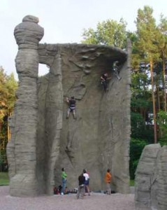 Foto Klettern am Kahleberg