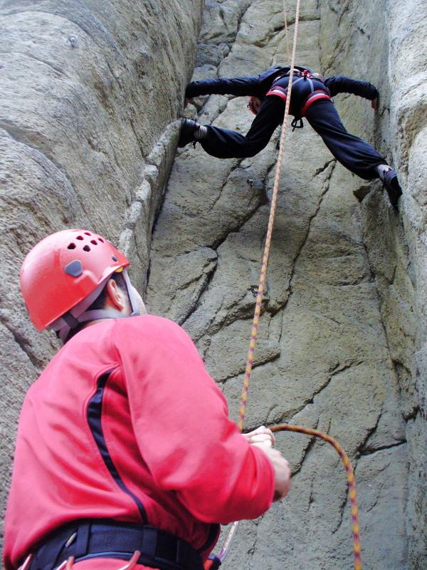 Foto Grundkurs Klettern mit Seilsicherung - Toprope-Kletterkurs