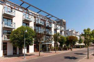 R-House für die Mr. S. Akademie Teamtrainings - Hotel MeerSinn in Binz Außenansicht