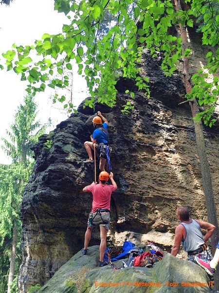 cd0fac57343049 ... Foto Sebastian R. - Klettern im sächischen Sandstein - Der  Schildkrötenturm