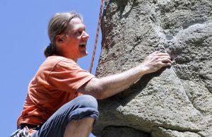 Foto: Klettern macht Spaß, Klettern am Kahleberg, Johanna Bergmann